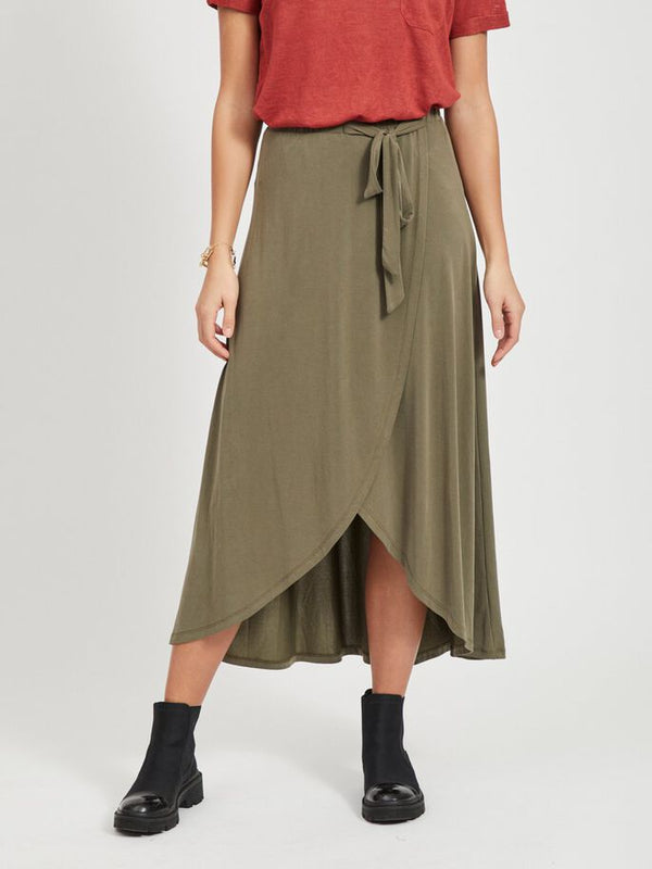 OBJANNIE SKIRT NOOS (BURNT OLIVE) - D.O. Design Only