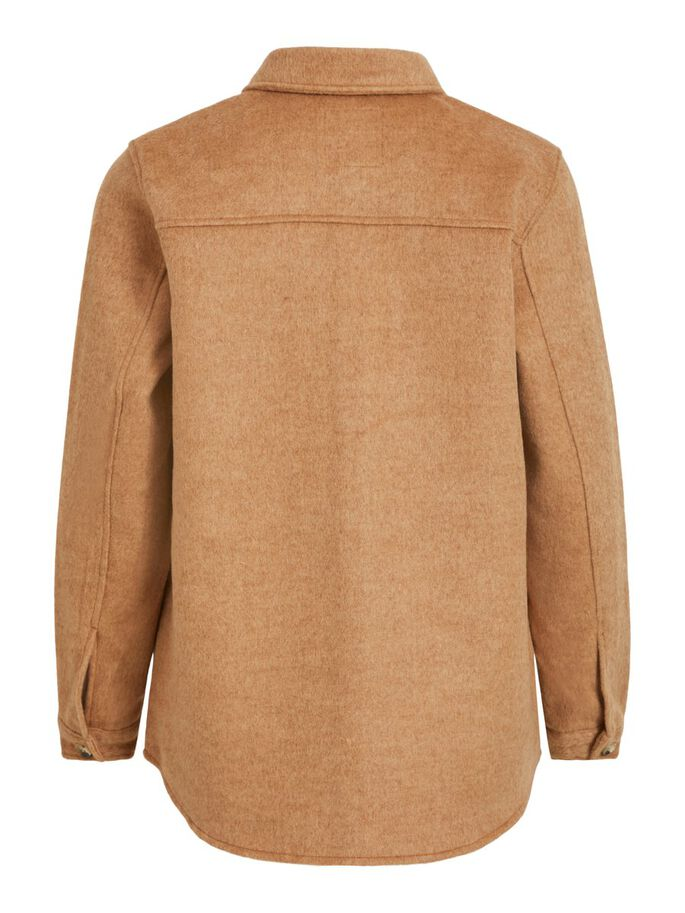 OBJVERA OWEN L/S JACKET A REP (Chipmunk)