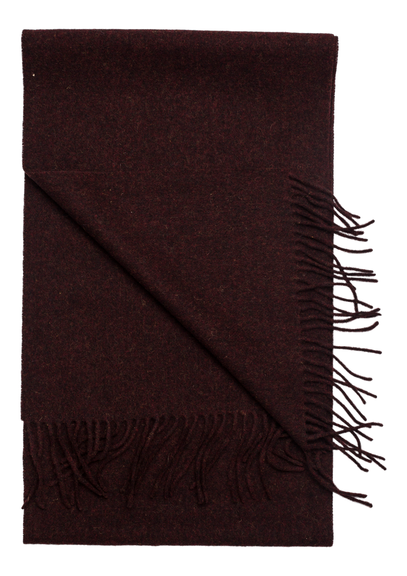 Woven Scarf (315 Bordeaux melange) - D.O Design Only