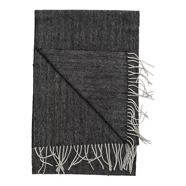 Woven Scarf (999 Black) - D.O Design Only