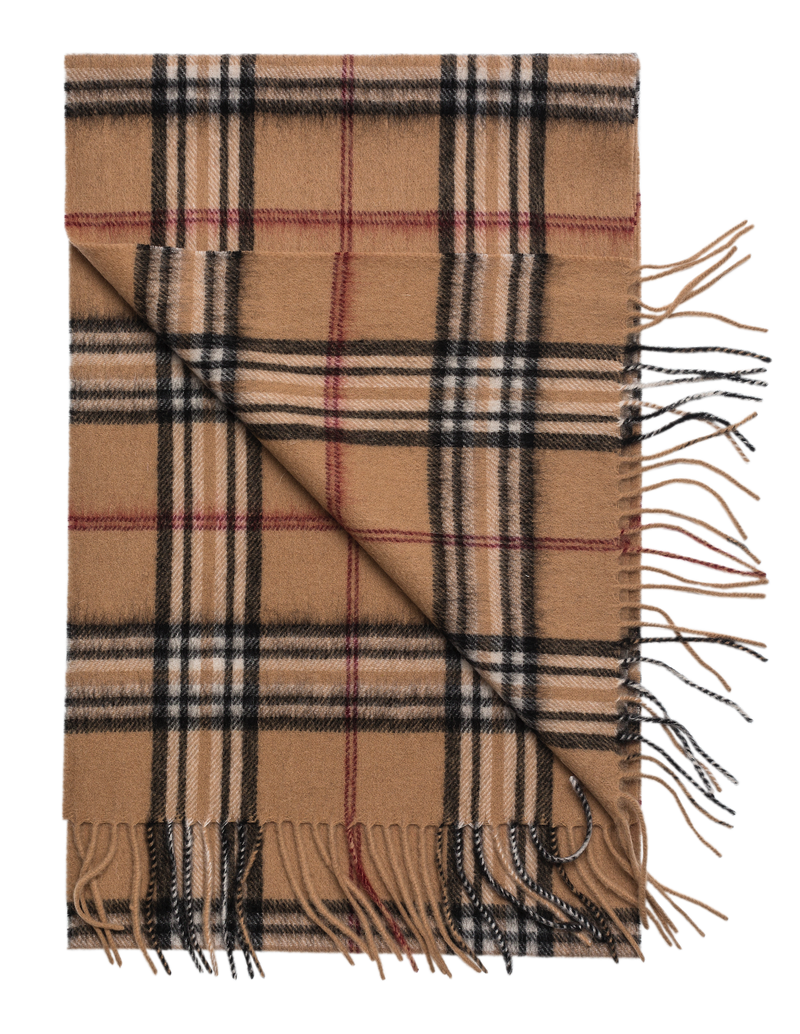 Woven Scarf (807 Camel) - D.O. Design Only