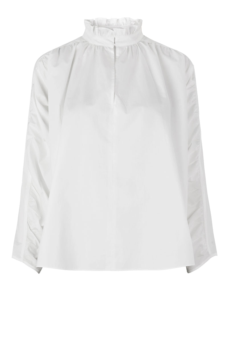 Addison Blouse (1001 White) - D.O. Design Only