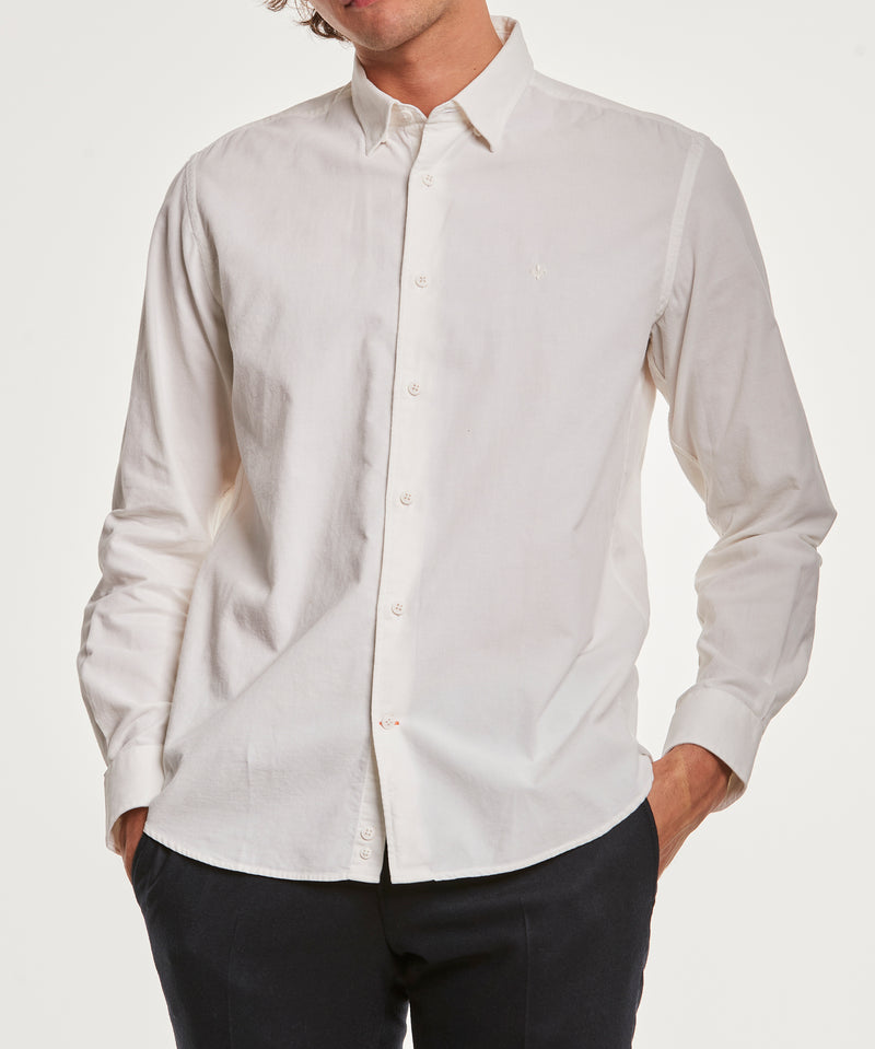 Cedrik Button Under Shirt (02 Off white)