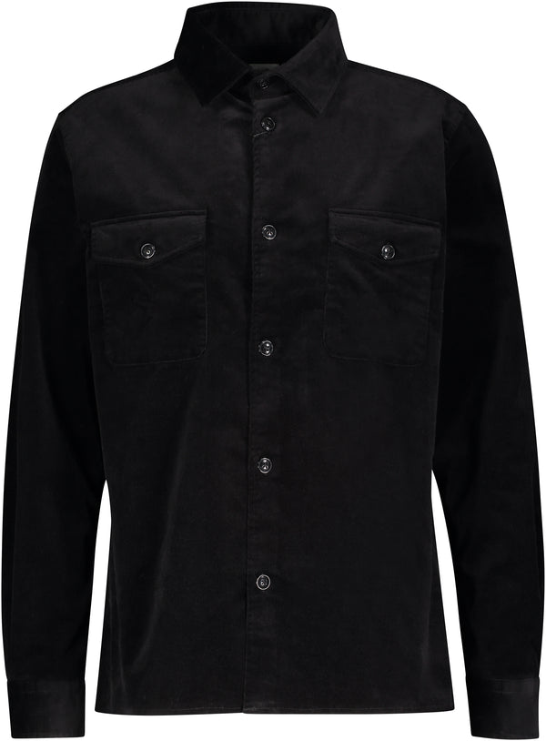 Curt Overshirt (BLACK)