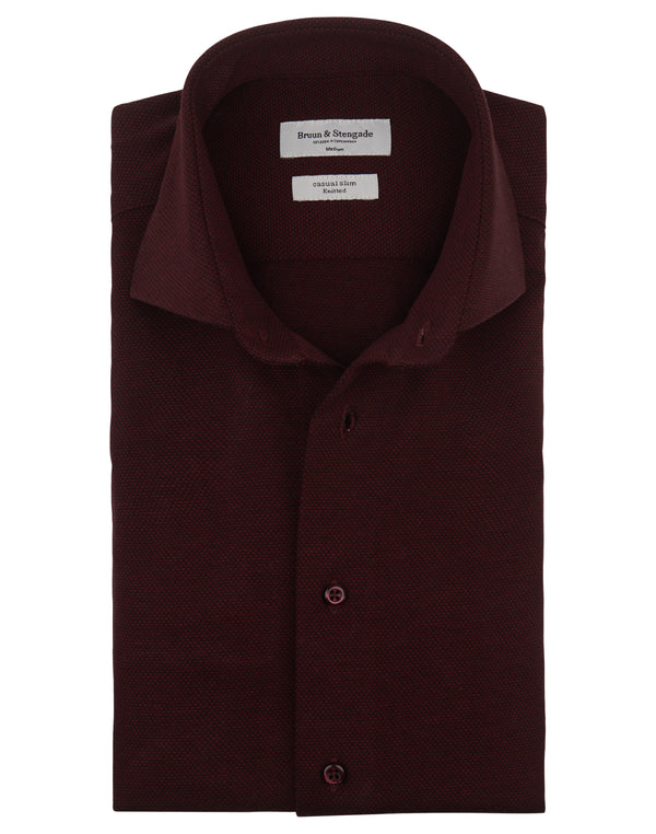 BS Bernal, Slim Fit (Bordeaux)