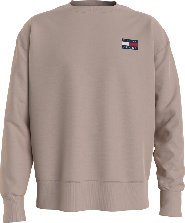TJM TOMMY BADGE CREW (ABM SOFT BEIGE)