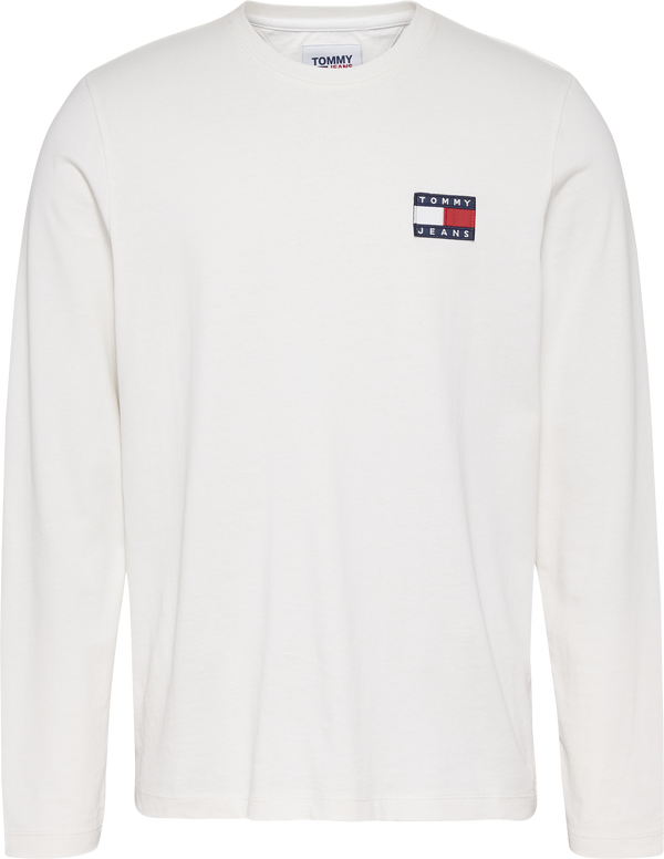 TJM TOMMY BADGE LONG, (YBR WHITE)