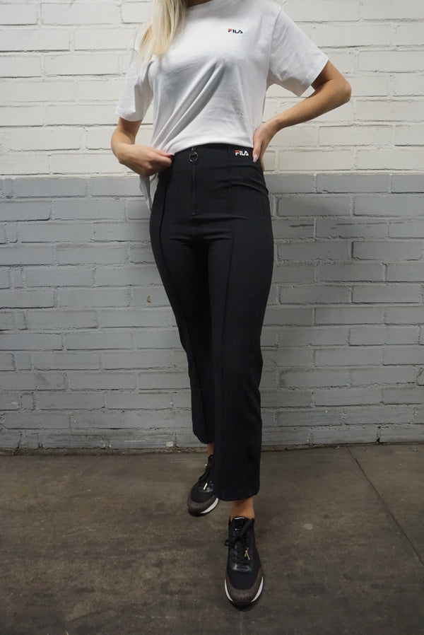 WOMEN MAR cropped pant (002 Black)