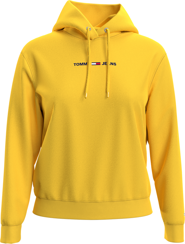 TJW LINEAR LOGO HOOD, (ZGQ STAR FRUIT YELLOW)