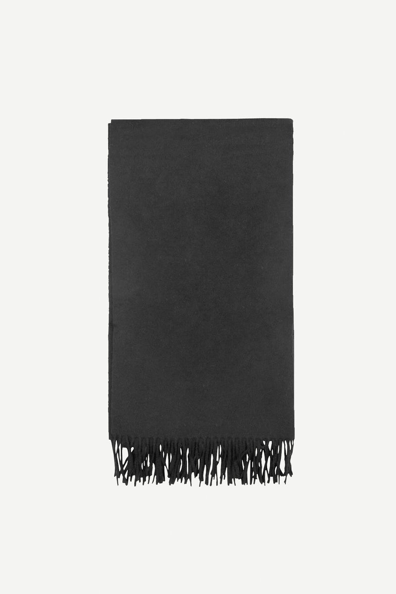 Accola maxi scarf 2862 (1 BLACK) - D.O Design Only