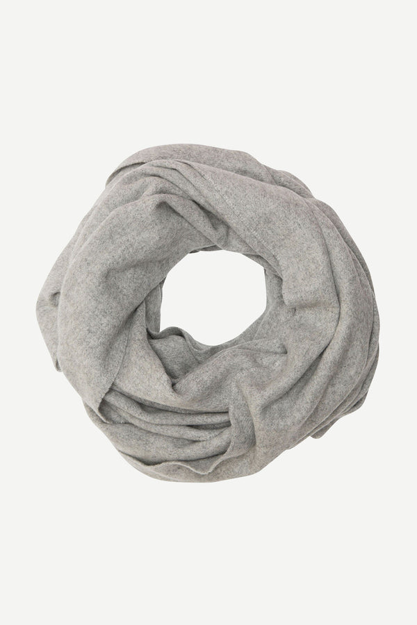 Accola maxi scarf 2862 (00022 GREY MEL.) - D.O Design Only