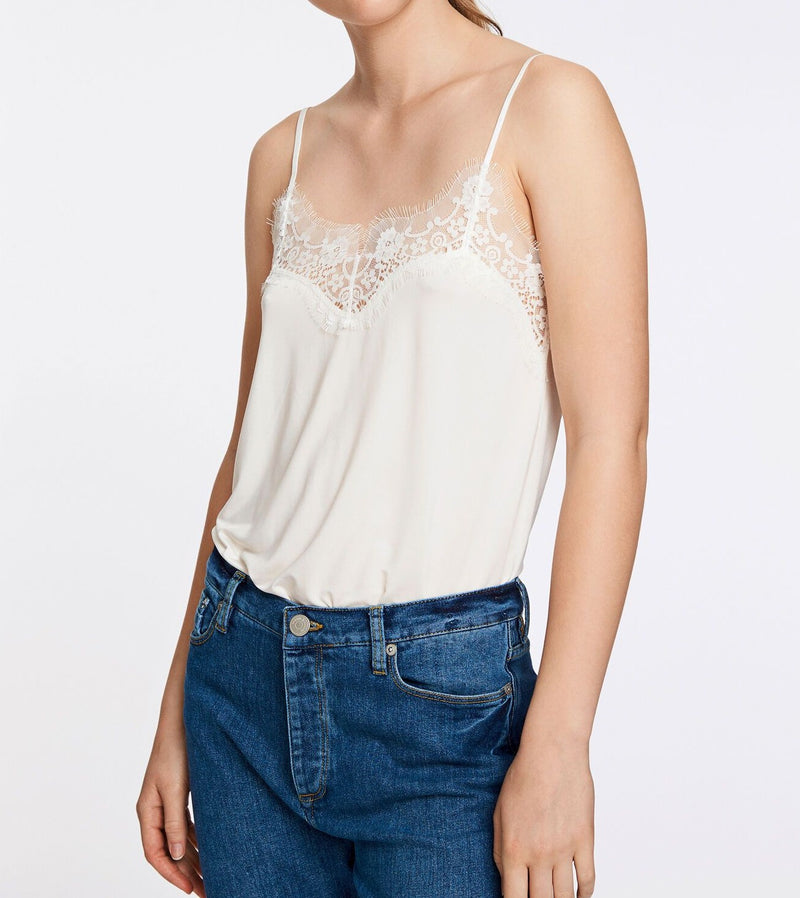 Slip top 6202 (10001 CLEAR CREAM) - D.O Design Only