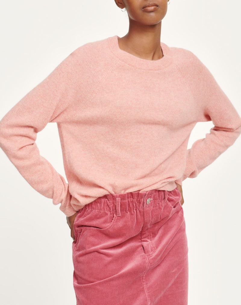 Boston o-neck 6304 (00152 POWDER PINK MEL.)