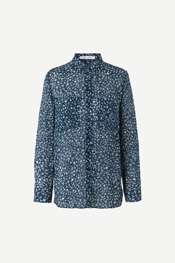Milly shirt aop 7201 (00533 SNOWFLAKE)