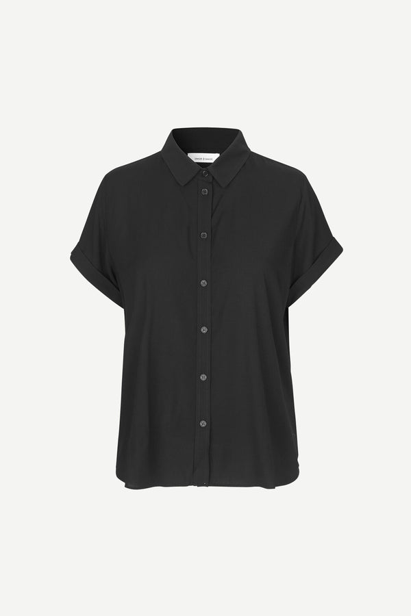 Majan ss shirt 9942 (BLACK) - D.O Design Only