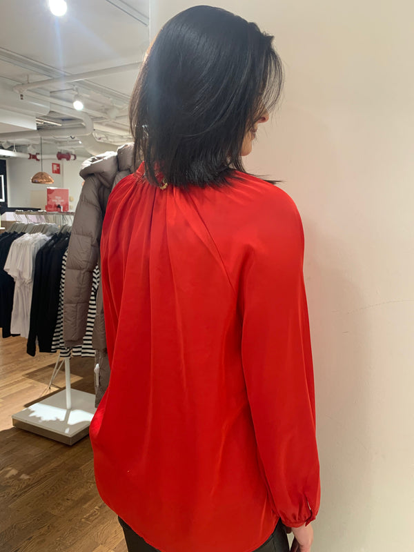 SLFHARMONY LS SHIRT B (True Red)