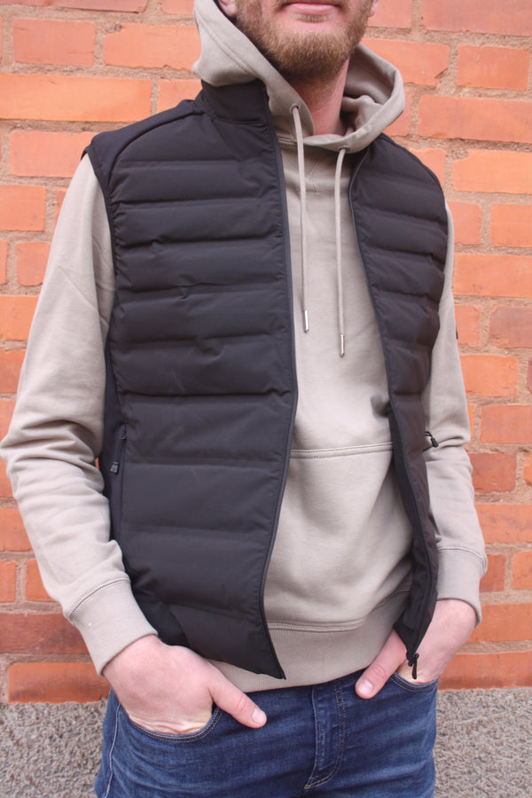 RACE DOWN VEST (999 Carbon)
