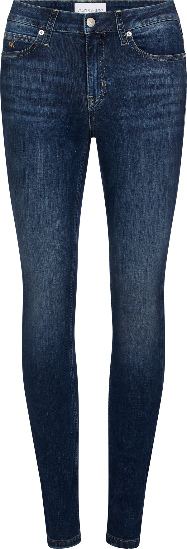 NOOS CKJ 011 MID RISE SKINNY (1A4 ZZ001 MID BLUE) - D.O Design Only