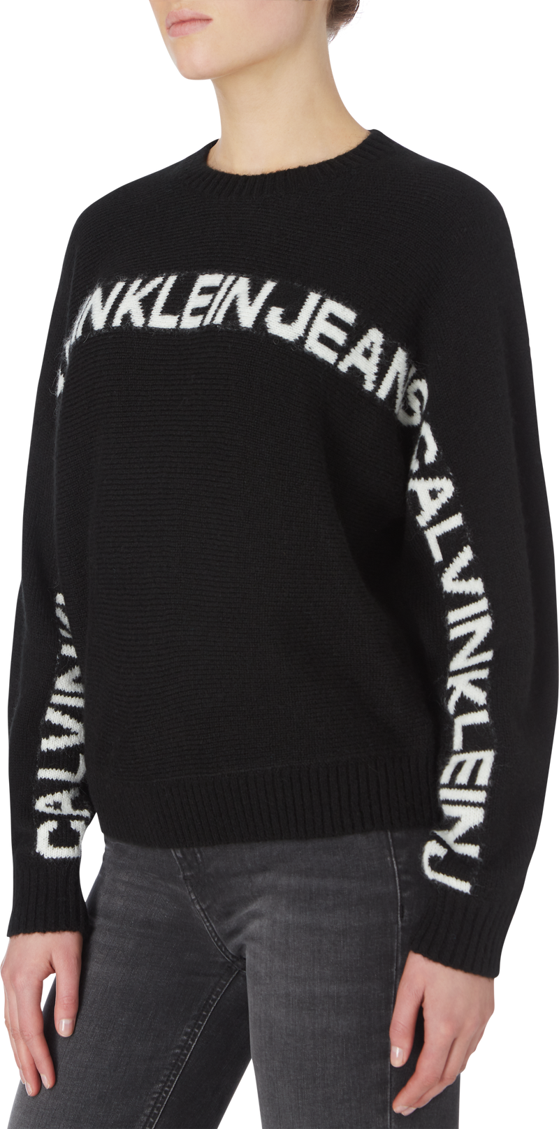 LOGO BANANA SWEATER (BEH CK Black)