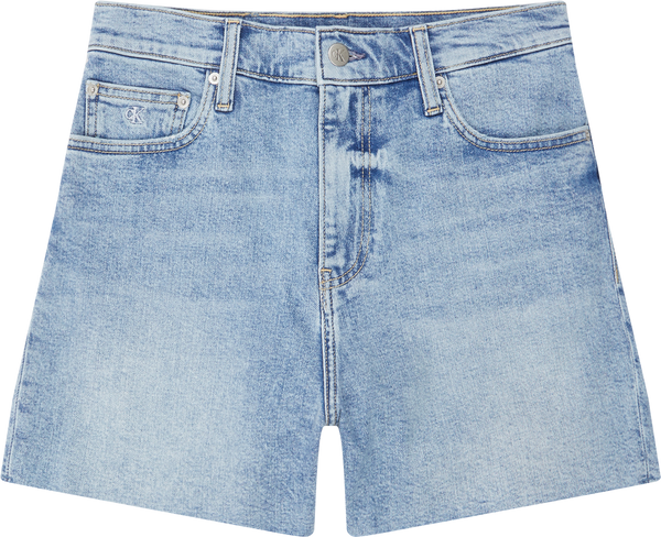 MOM SHORT, (1AA Denim Light)