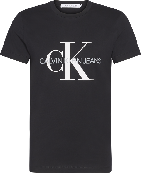 ICONIC MONOGRAM SS SLIM TEE (BAE CK BLACK) - D.O Design Only