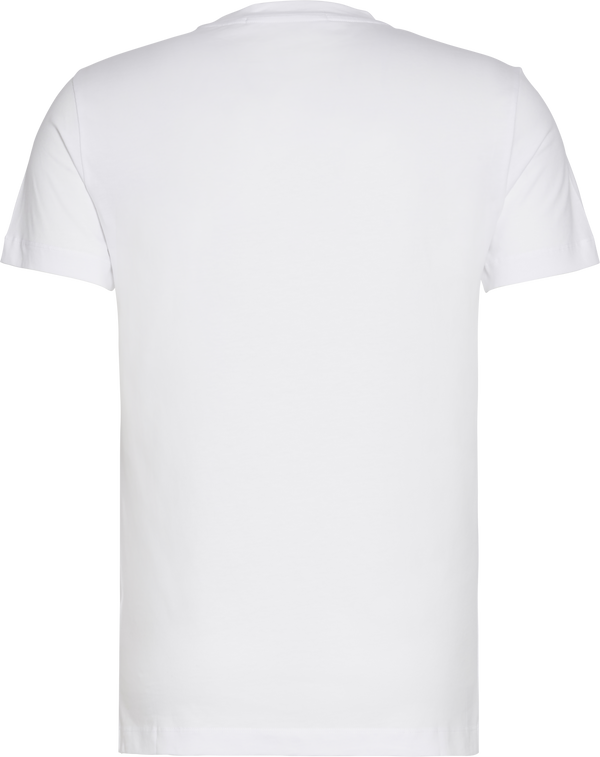 ICONIC MONOGRAM SS SLIM TEE (YAF Bright White)