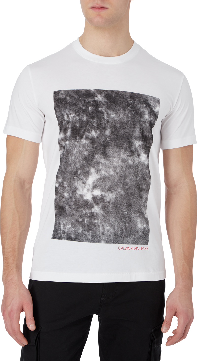 CLOUD PHOTOPRINT TEE (YAF Bright White)