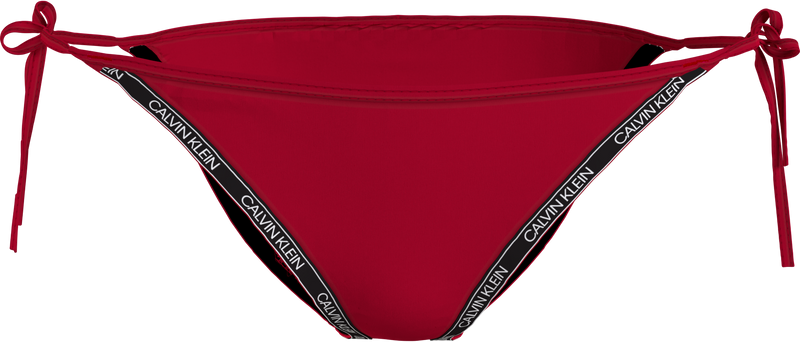 STRING SIDE TIE, (XMK Rustic Red)