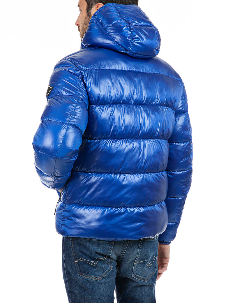 Jacket Nylon Cire (185 ELECTRIC BLUE) - D.O Design Only