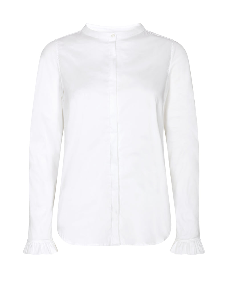 Mattie Sustainable Shirt (101 white) - D.O Design Only