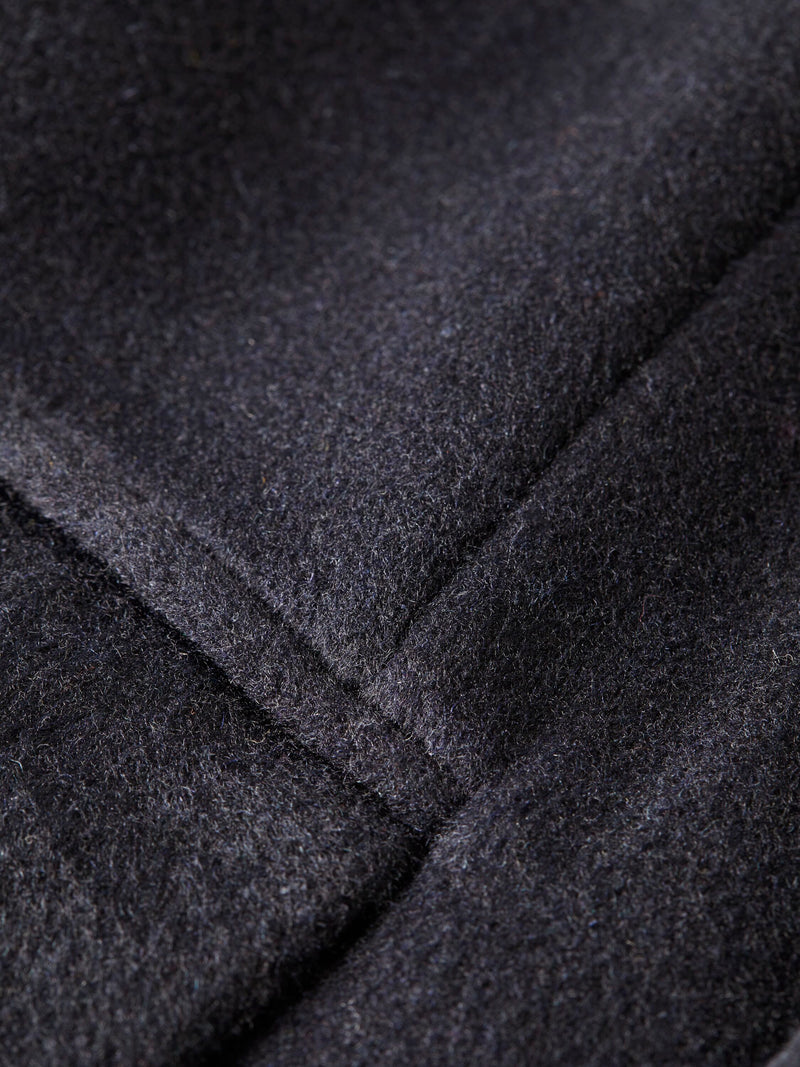 Classic wool-blend overcoat (Night)