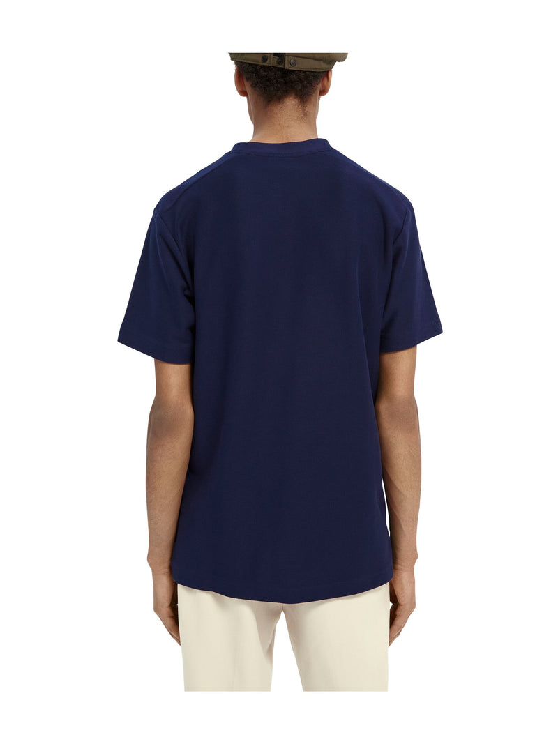 T-shirt in twill structure (0093)