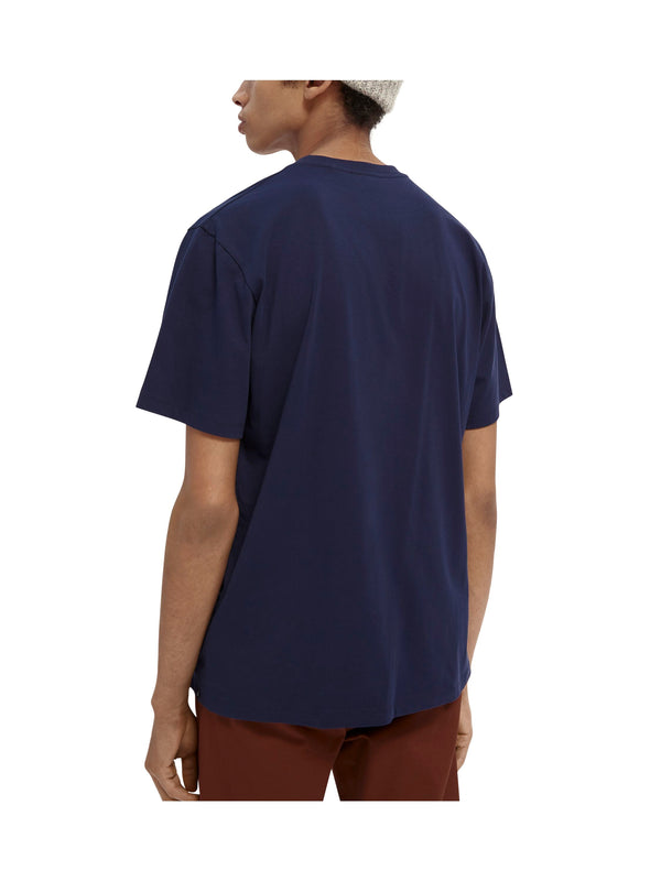 T-shirt with chest pocket (0002)