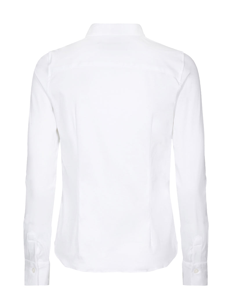 Tina Jersey Shirt (101 white) - D.O Design Only