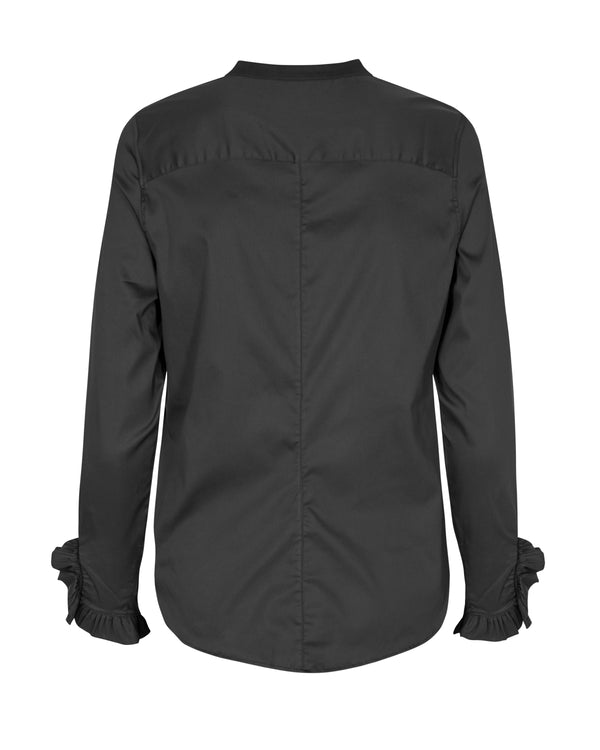 Mattie Sustainable Shirt (801 Black) - D.O Design Only