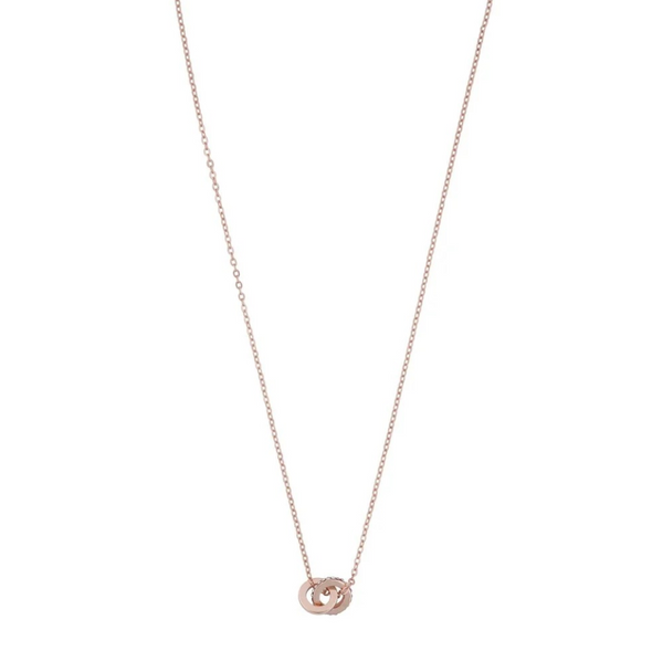 Connected pendant neck 4 (255 rosé/clear) - D.O Design Only
