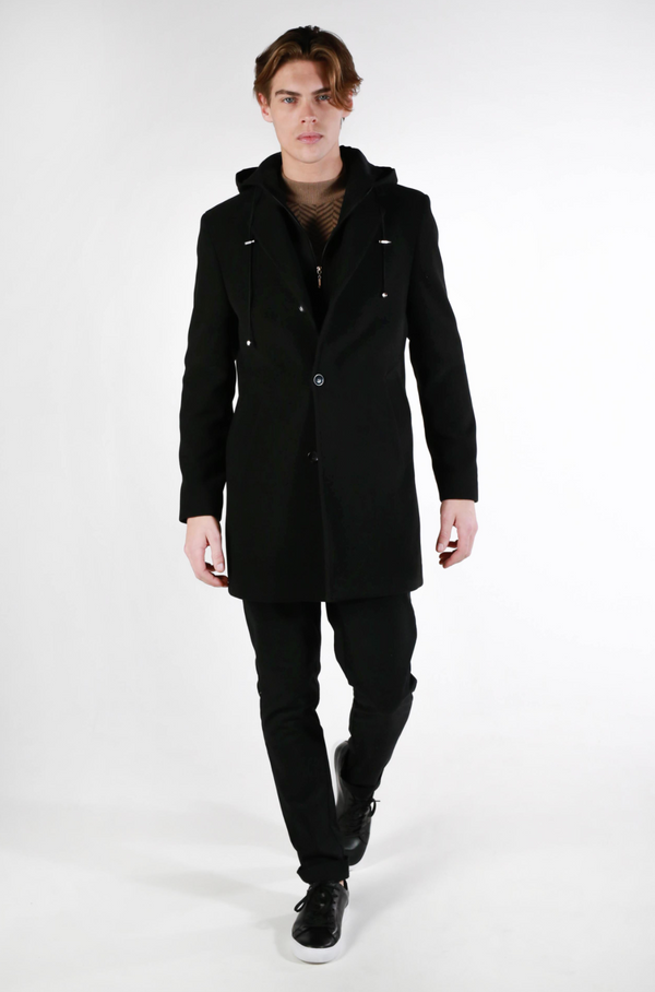 Alfie Coat (BLACK)