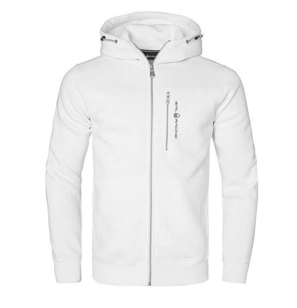 BOWMAN ZIP HOOD (101 white)