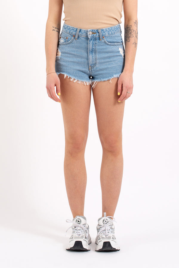 Skye Shorts (Empress Light Blue Ripped F95)