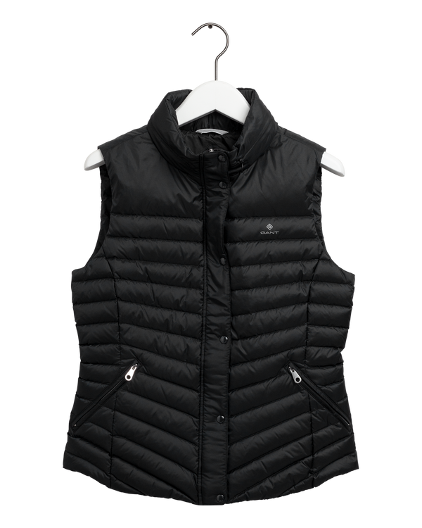 LIGHT DOWN GILET (5 BLACK)