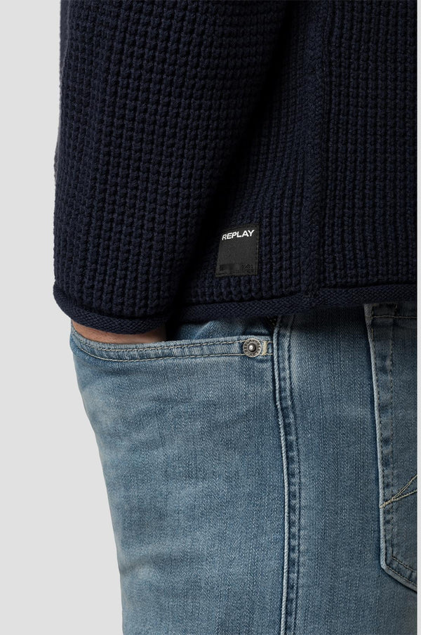 Knitwear Hyperflex (500 NAVY) - D.O Design Only