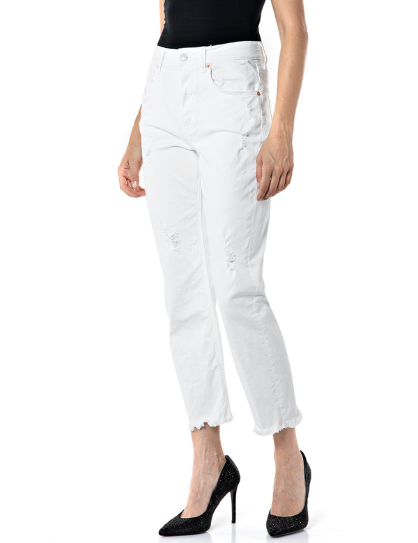 MAIJKE (100 OPTICAL WHITE White stone wash)