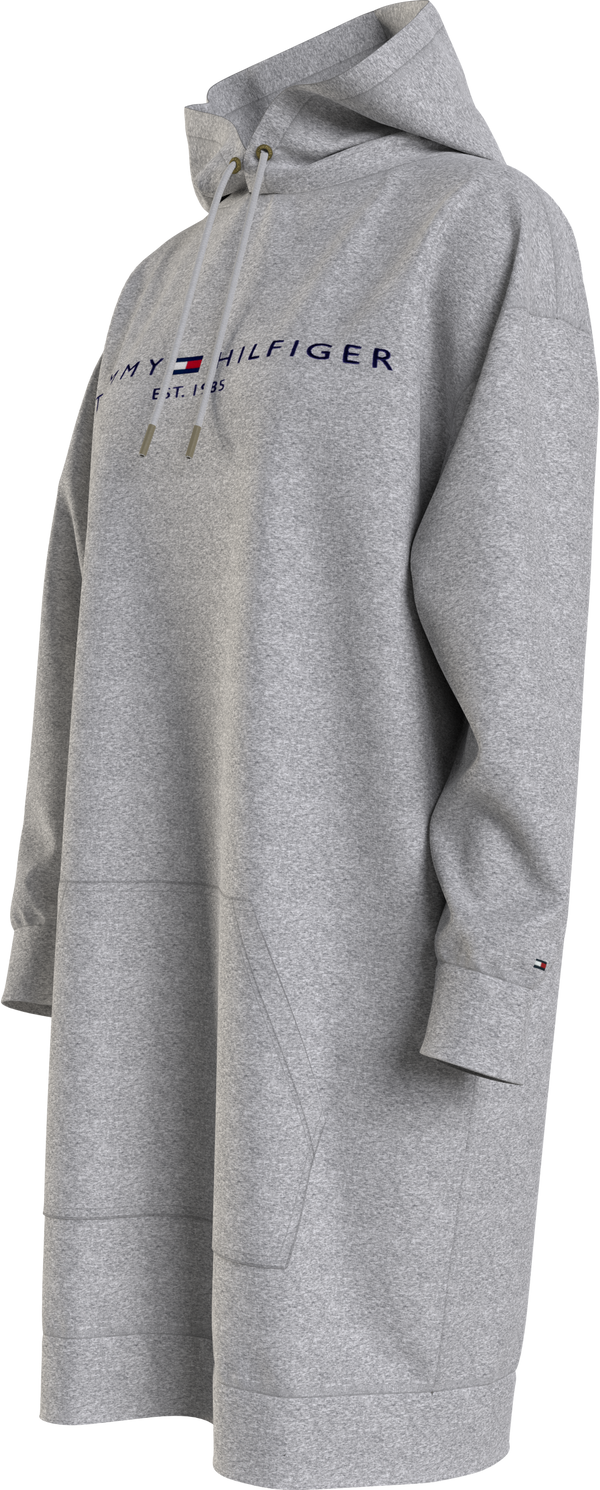 TH ESS HILFIGER HOOD, (PKH Light Grey Heather)