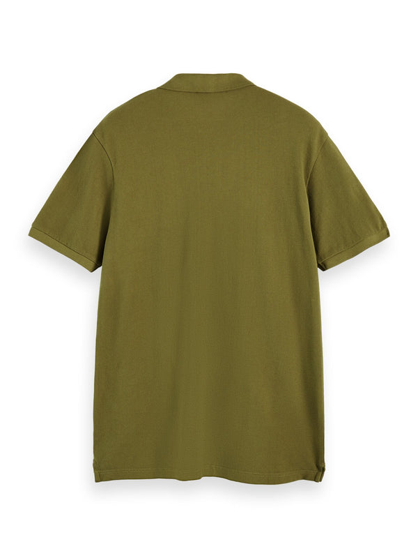 Garment dye polo (Military Green) - D.O Design Only