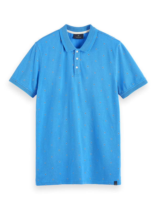 Allover printed polo (COMBO B) - D.O Design Only