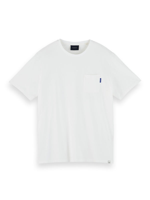 Fabric dyed pocket tee (Off white) - D.O Design Only