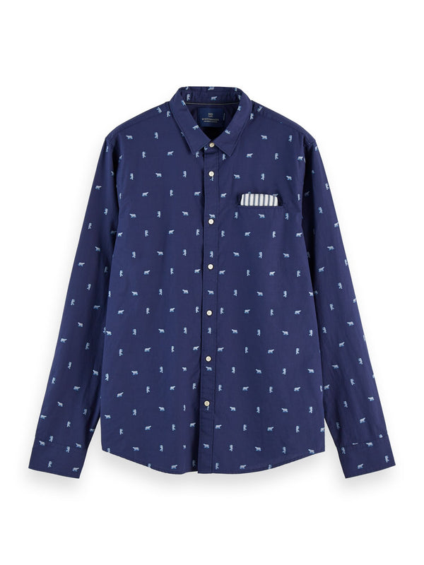 REGULAR FIT - Chic pochet shirt (Combo A) - D.O Design Only