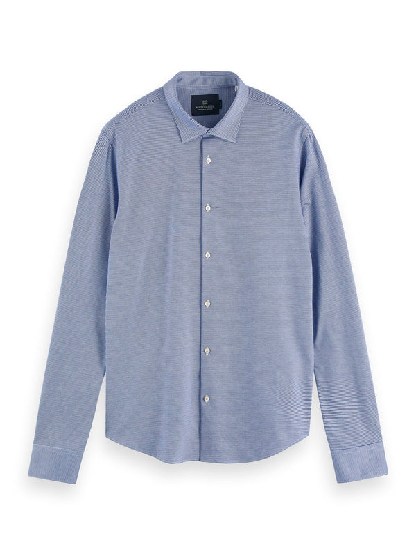 SLIM FIT - Classic knitted shirt (COMBO B) - D.O Design Only