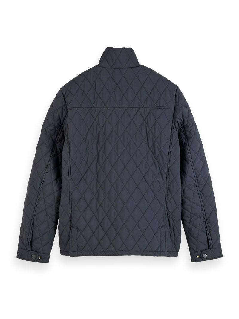 Classic short quilted jacket (Night) - D.O Design Only