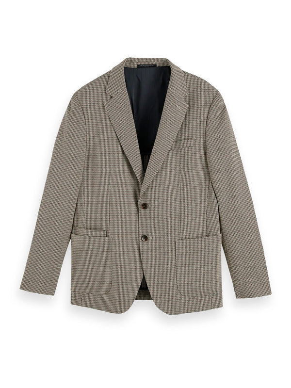Classic single-breasted structured blazer (Combo C) - D.O Design Only